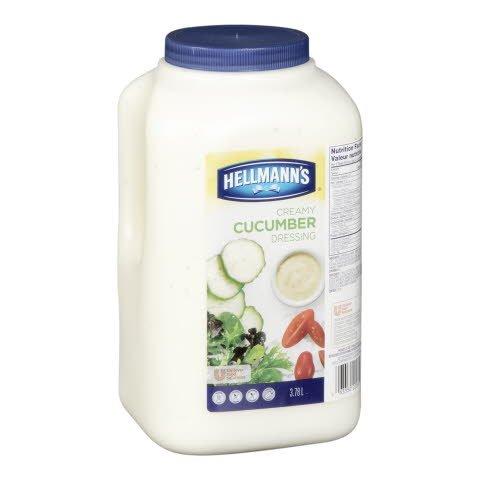 Hellmann's® Classiques Vinaigrette au Concombre 2 x 3.78 L -