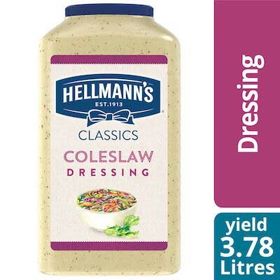 Hellmann's® Creamy Coleslaw Dressing 3.78 litre, paquet de 2 -