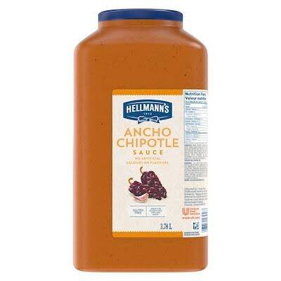 Hellmann's® Sauce Ancho Chipotle 3,78 litre, paquet de 2 -