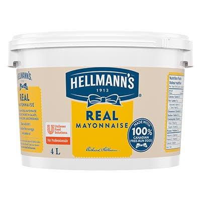 Hellmann's® Vraie Mayonnaise 2 x 4 L -