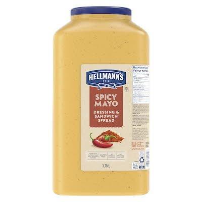 Hellmann's® Mayonnaise épicée, 2 x 3.78L -