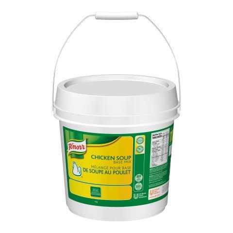 Knorr® Melange pour Base de Soupe au Poulet (No MSG) 4 kg, paquet de 1 -