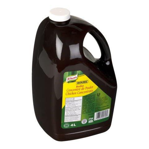 Knorr® Professionnel Bovril Bouillon Concentré Liquide de Poulet 2 x 4 L -