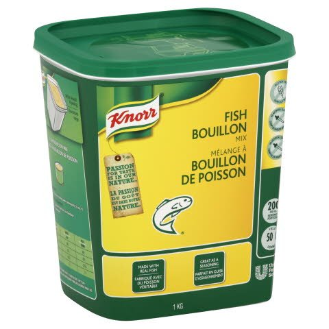 Knorr® Professionnel Mélange à Bouillon de Poisson 6 x 1 kg -