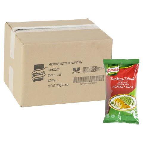 Knorr® Professionnel Mélange à Sauce à la Dinde 6 x 475 gr -