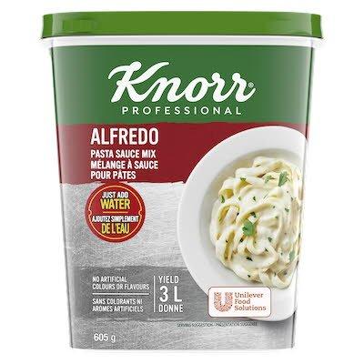 Knorr® Professionnel Mélange à Sauce Alfredo 4 x 605 gr -