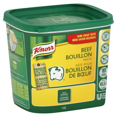 Knorr® Professionnel Pâte pour Bouillon de Bœuf 6 x 1 kg -