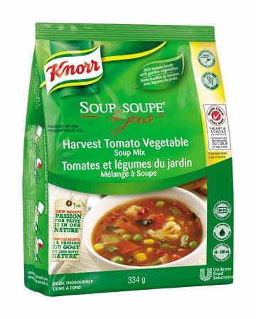 Knorr® Professionnel Soup Du Jour tomates et lègumes du jardin -