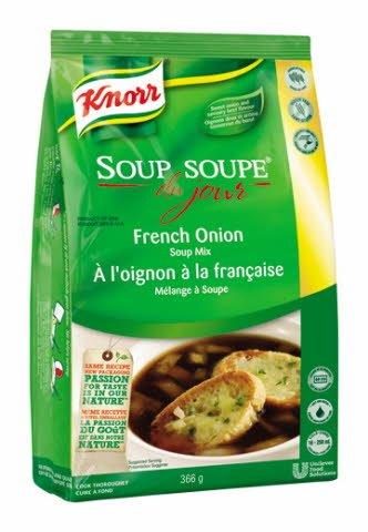 Knorr® Professionnel Soupe du Jour à l'Oignon à la Francaise 4 x 366 gr -
