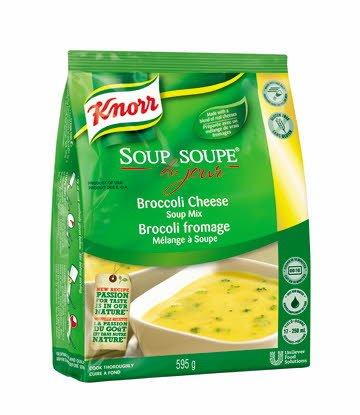 Knorr® Professionnel Soupe du Jour Brocoli Fromage 4 x 595 gr -