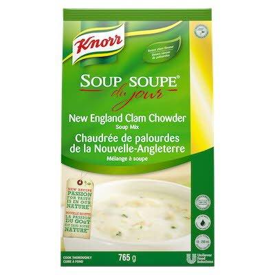 Knorr® Professionnel Soupe du Jour Chaudrée de Palourdes de la Nouvelle-Angleterre 4 x 765 gr -
