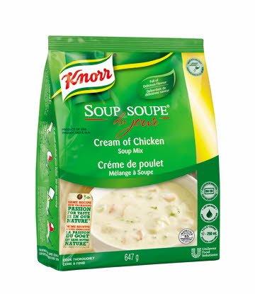 Knorr® Professionnel Soupe du Jour Crème de Poulet 4 x 647 gr -