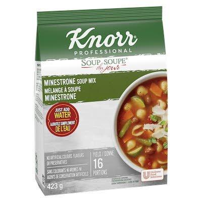 Knorr® Professionnel Soupe du Jour Minestrone 4 x 423 gr -