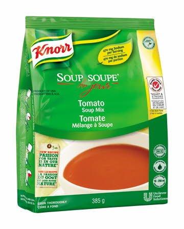 Knorr® Professionnel Soupe du Jour Tomate 4 x 385 gr -