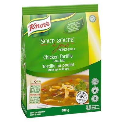 Knorr® Professionnel Soupe du Jour Tortilla au Poulet 4 x 411 gr -