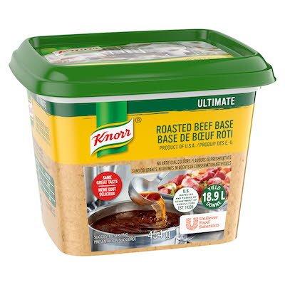 Knorr® Professionnel Ultimate Bouillon Base de Bœuf Rôti 6 x 454 gr -