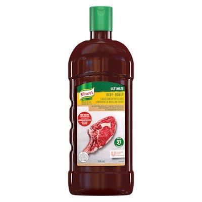 Knorr® Professionnel Ultimate Bouillon de Bœuf Liquide Concentré 4 x 946 ml -