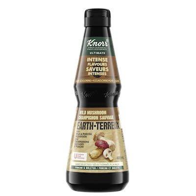 Knorr® Professionnel Ultimate saveurs intenses assaisonnement champignons sauvages 400ml, Paquet de 4 -