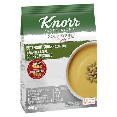 Knorr® Soup Du Jour courge musquée 4 x 440g -