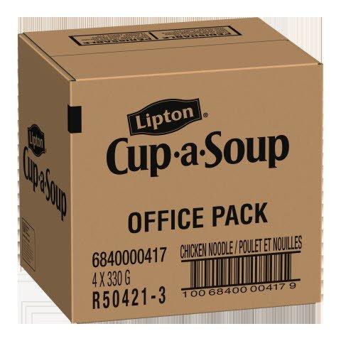 Lipton® Cup-a-Soup Poulet et Nouilles Recette Originale 330 gramme, paquet de 4 -