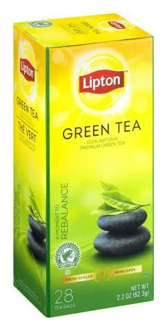 Lipton® Enveloped Green Tea pack of 6, 28 count