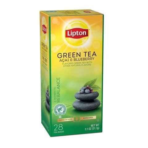 Lipton® Green Tea Açai & Blueberry - 10041000418522 -