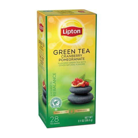 Lipton® Green Tea Cranberry Pomegranate