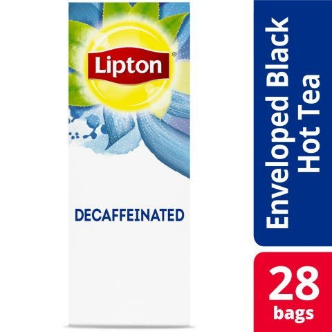 Lipton®  Hot Tea Bags Decaffeinated Black pack of 6, 28 count