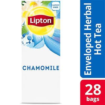 Lipton® Tisane de Camomille paquet de 6, 28 pièces - Les variétés de Lipton® conviennent à toutes les humeurs.