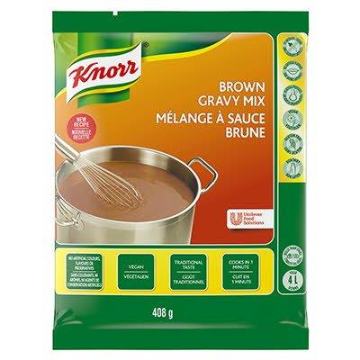 Sauce à rôti brune Knorr® sans gluten 408 g, paquet de 6