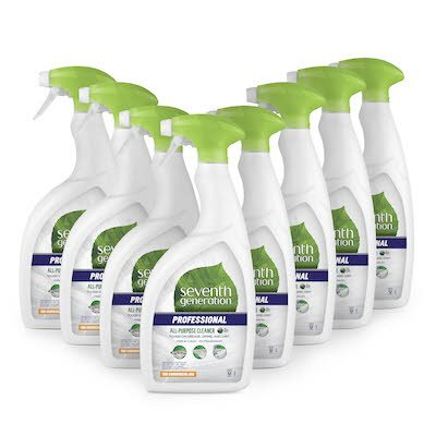 Seventh Generation Professional All Purpose Cleaner 0.95 l x 8 - Certifié par l'USDA