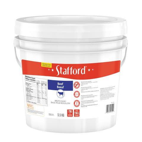 Stafford® Étiquette Bleue Base pour Bouillon au Bœuf 1 x 5.5 kg -