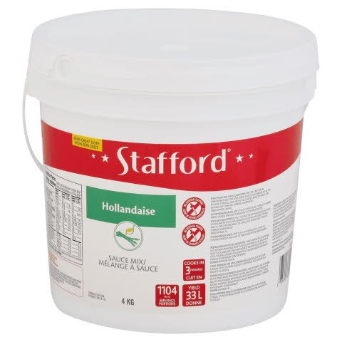 Stafford® Étiquette Rouge Mélange à Sauce Hollandaise 1 x 4 kg -