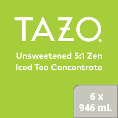 TAZO® Concentré de Thé Glacé Passion 5:1 6 x 946 ml -