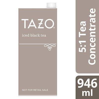 TAZO® Concentré de thé noir glacé 5:1 boîte de 946ml, ensemble de 6 - TAZO® offre des thés avec une touche d'originalité et aux saveurs délicieusement uniques