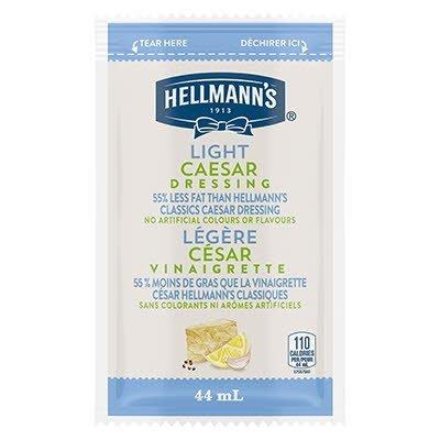 Vinaigrette César légère de Hellmann's® en portion normalisée, sachet de 44 ml, paquet de 102