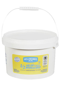 Hellmann's® 1/2 THE FAT - Hellmann's® ½ the Fat Mayonnaise has half the fat, with all the flavour.