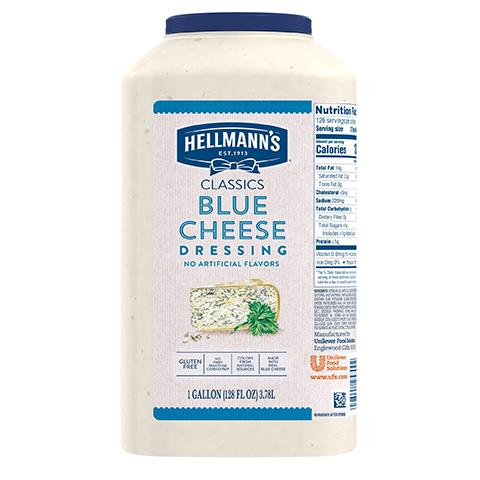 Hellmann's® Classics Salad Dressing Jug Blue Cheese 3.78 litres, paquet de 2 -
