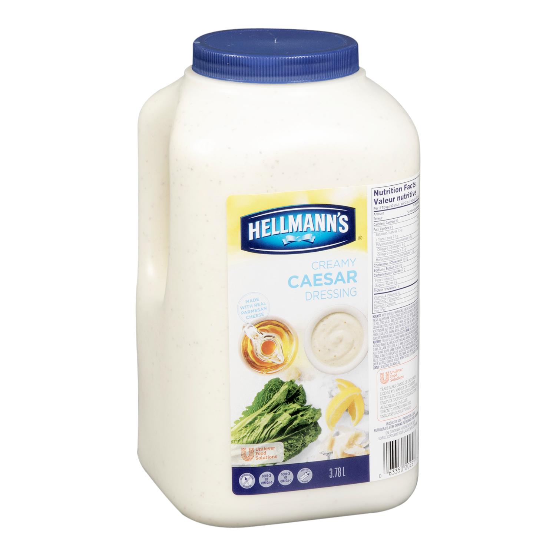 Hellmann's® Classics Salad Dressing Jug Caesar 3.78 Liters, Pack of 2 -