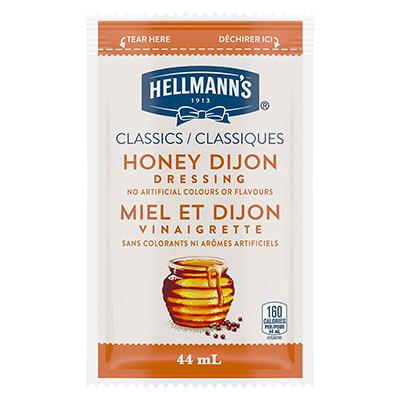 Hellmann's® Vinaigrette au Miel et à la Moutarde de Dijon Sachets 102 x 44 ml -