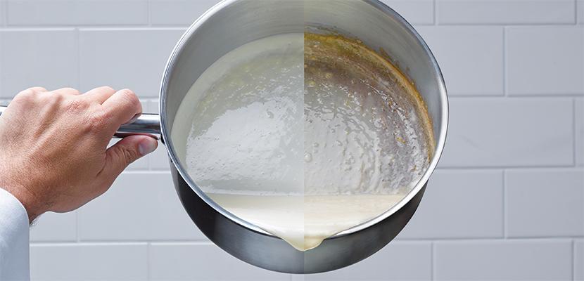 Knorr® BASE DE CRÈME CULINAIRE - Reagit mieux sous la chaleur d'apres les tests de l'Institut des Maîtres Cuisiniers (MC)