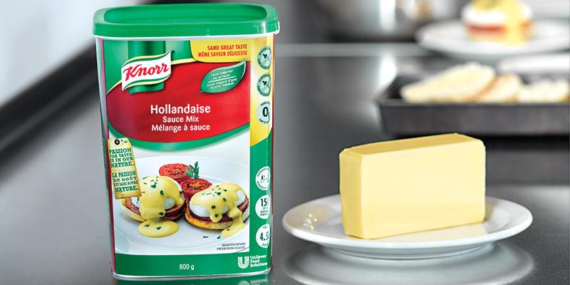 Knorr® Sauce hollandaise classique - Riche, aux saveurs de beurre, inspiré du fait maison