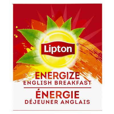 Lipton® Thé Chaud Déjeuner Anglais 6 x 28 sachets -