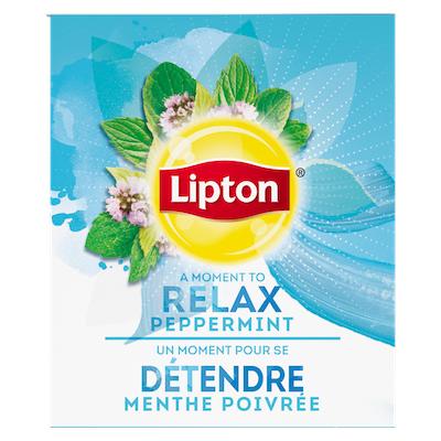 Lipton® Thé Chaud Menthe Poivrée 6 x 28 sachets -