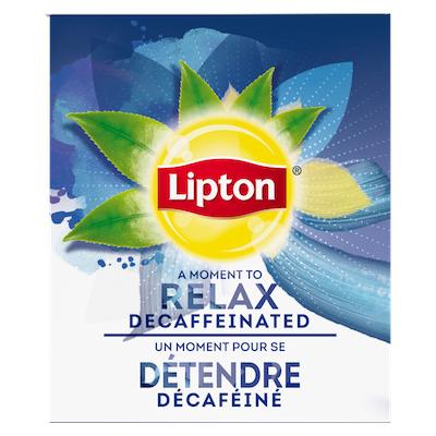 Lipton® Thé Chaud Noir Décaféiné 6 x 28 sachets -