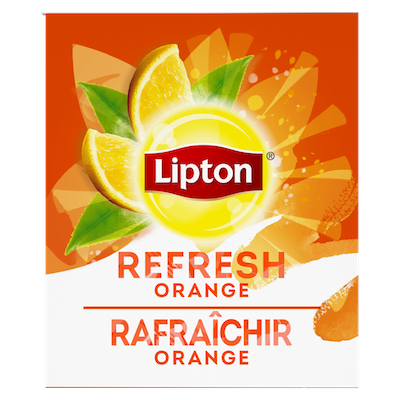 Lipton® Thé Chaud Orange 6 x 28 sachets -