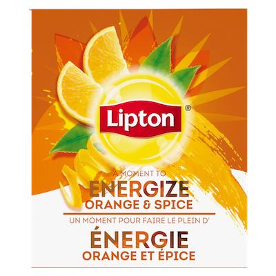 Lipton® Thé Chaud Orange et Épice 6 x 28 sachets -