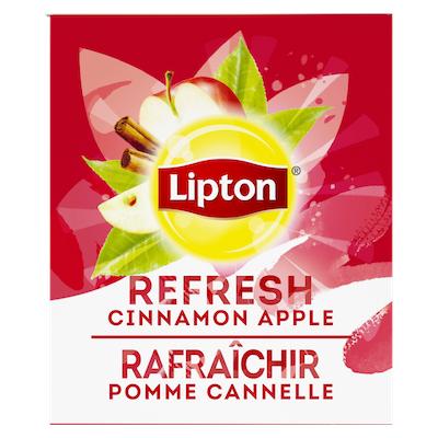 Lipton® Thé Chaud Pomme Cannelle 6 x 28 sachets -