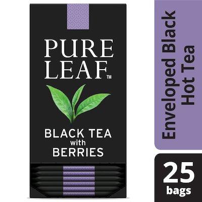 Pure Leafᴹᶜ Hot Tea Bags Black Tea with Berries 6/25 ct - Le thé Pure Leafᴹᶜ  est fait avec uniquement les meilleurs.