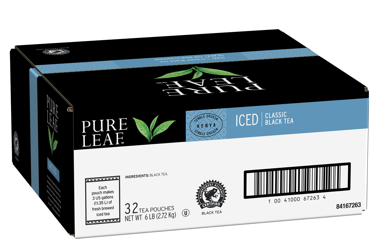 Pure Leafᴹᶜ Thé Glacé Noir Classique 32 x 11 L - Le thé Pure Leafᴹᶜ est fait avec uniquement les meilleurs.